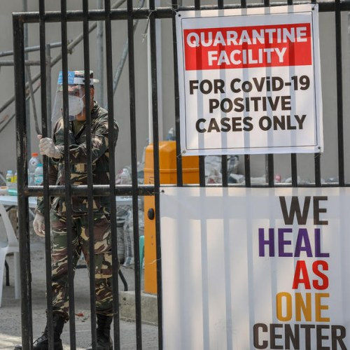 Philippines reports 22,415 coronavirus cases, a daily record