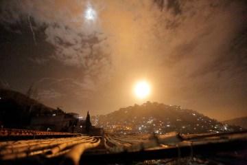UPDATED: Syria says Israeli raids target Mediterranean port region of Latakia