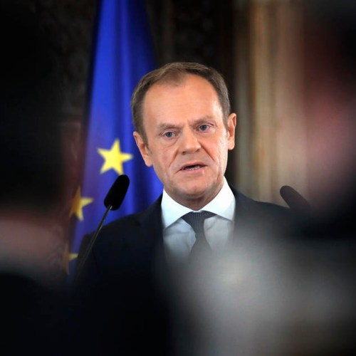 Tusk urges Poles to shun May presidential vote
