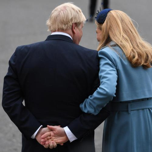 Boris Johnson's pregnant fiancee in isolation with Covid-19