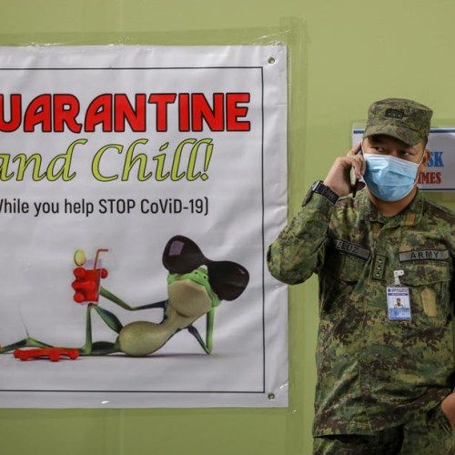 Photo Story: Quarantine in Manila