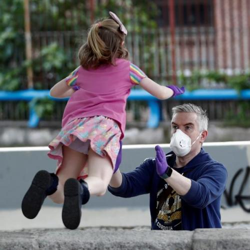'Freedom' for Spanish children after 6 weeks of lockdown