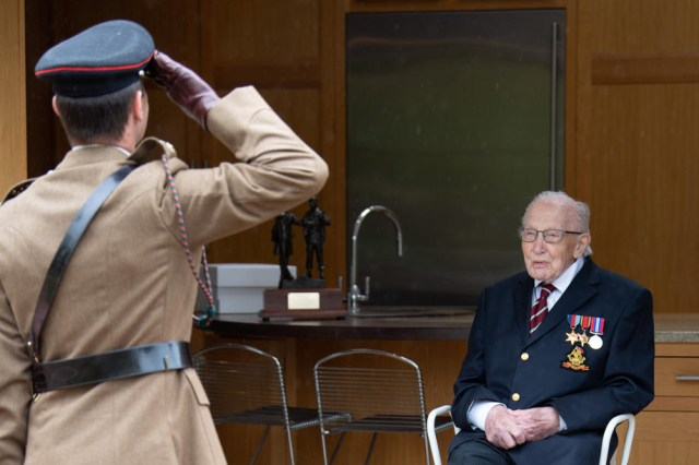 Captain Tom Moore appointed Honorary Colonel