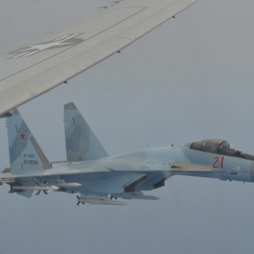 Another dangerous confrontation between US and Russian aircraft over the Mediterranean