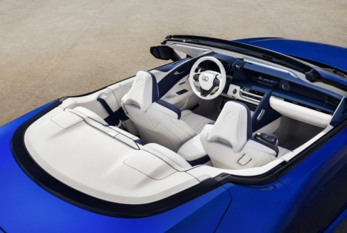 Lexus goes to exceptional lengths to make sure there's no loss of comfort in the new LC Convertible