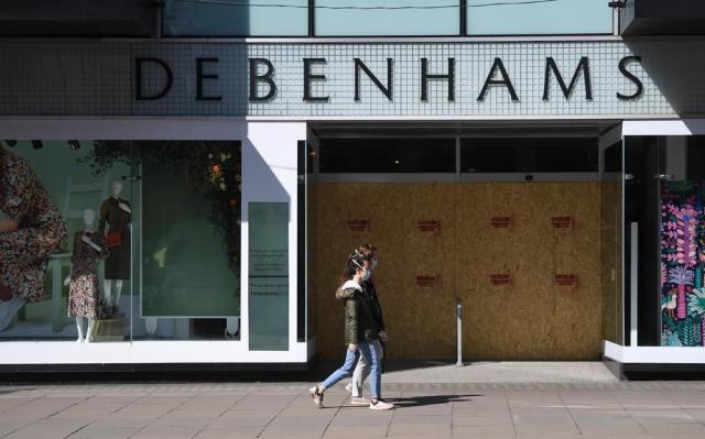 Debenhams stores in Britain to close permanently