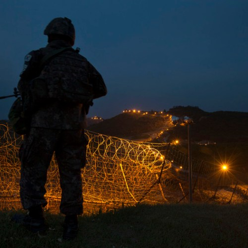 Exchange of gunfire across Korean border
