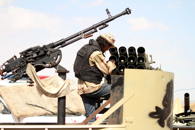East Libyan forces say two helicopters crash in military operation