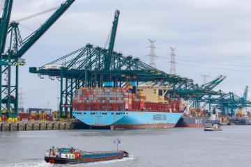 Port of Antwerp sees volume growth despite pandemic disruption