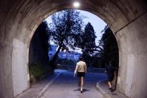 epa08397032 Two men do exercise in the early morning in Malaga, southern Spain, issued 02 May 2020. Spain begins a de-escalation phase amid coronavirus outbreak allowing adults go out home daily with restrictions. Adults are allowed to do exercise and go out for a walk from 6 to 10 am and 8 to 11 pm. Elderly people can go out for a walk from 10 am to 12 pm and 7 pm to 8 pm and under-14 children from 12 pm to 7 pm. Spain is under a lockdown to avoid the spreading of pandemic of the COVID-19 disease caused by the SARS-CoV-2 coronavirus. EPA-EFE/Jorge Zapata