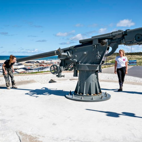 Photo Story: WW2 German cannon in Denmark raises controversy
