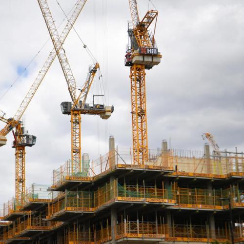 Sharp decline in construction output across the EU