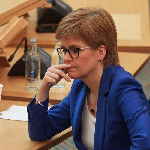 Scotland's Sturgeon says lockdown easing must be very cautious