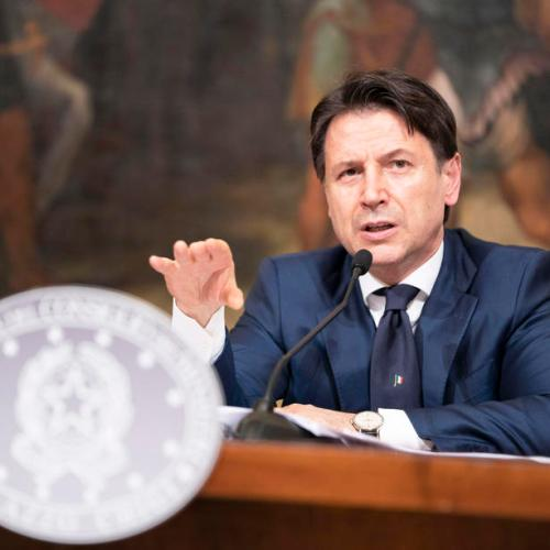 "Italy PM Conte says won't accept ""weak compromise"" on EU recovery fund"