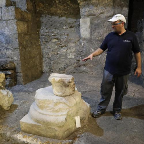 Photo Story: Israel Antiquities Authority presents excavations finds in the Western Wall Tunnels