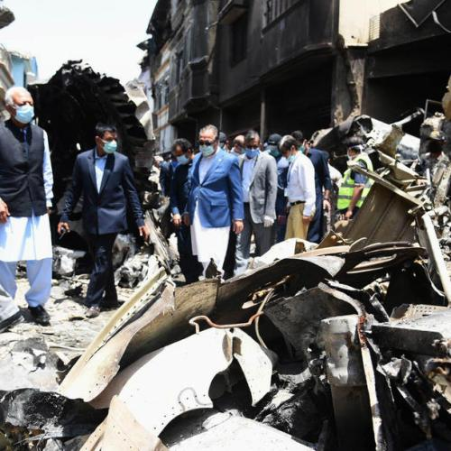 Pakistan airliner flight data recorder retrieved