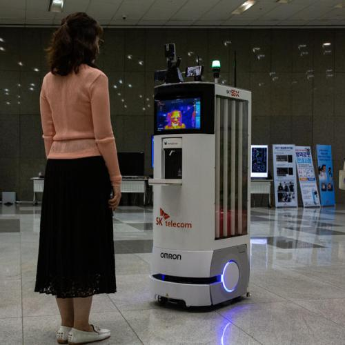 Photo Story: Robot to help fight coronavirus pandemic in South Korea