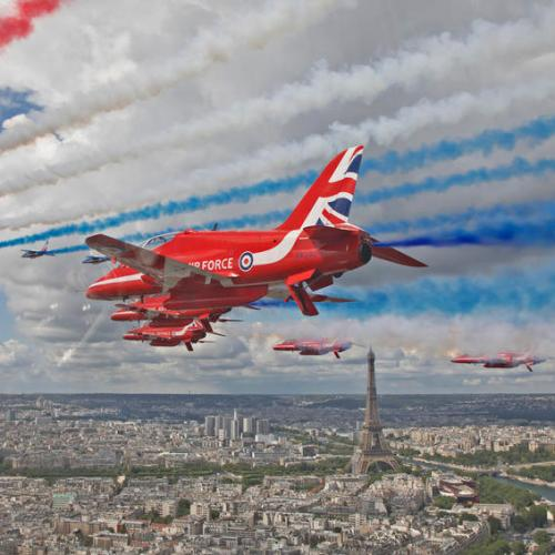 Photo Story: Historic flypast over London and Paris