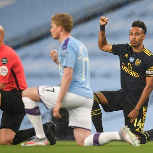 Manchester City beats Arsenal as British Premier League restarts
