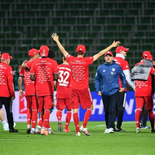 Bayern Munich clinch 8th consecutive Bundesliga title