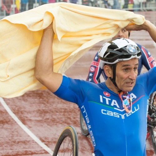 Alex Zanardi in serious condition following a road accident during a Paralympic relay race stage
