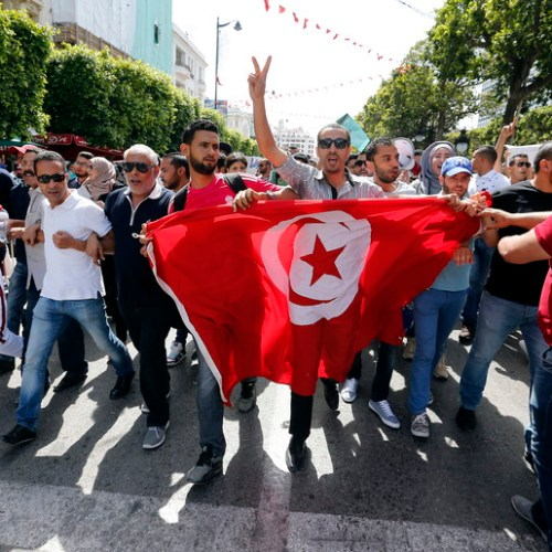 Protests in Tunisia over unemployment