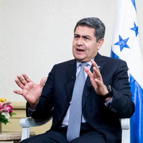 President of Honduras says he is infected with coronavirus