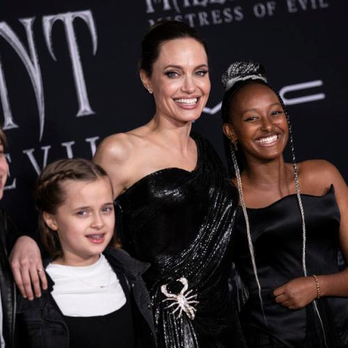 Angelina Jolie speaks about the global refugee crisis and reveals why she divorced Brad Pitt