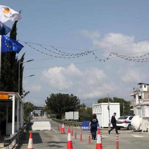 Cyprus reopens checkpoints closed because of COVID-19