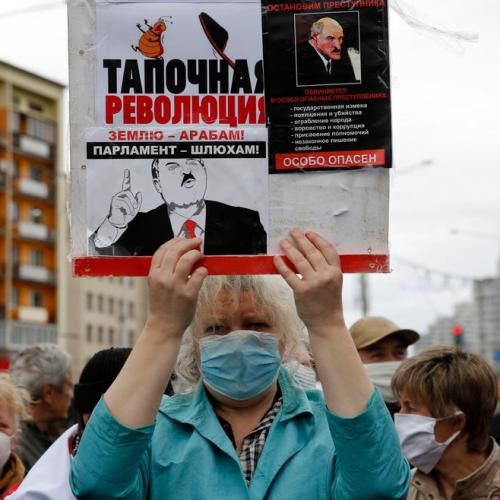 Protests rattle Belarus President Lukashenko before election
