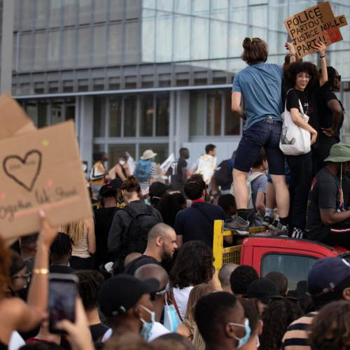 Tensions rise in Paris over the death of a black Frenchman in 2016