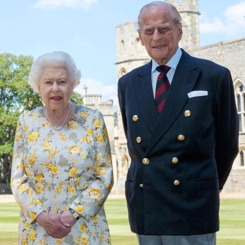 Queen Elizabeth and The Duke of Edinburgh received COVID-19 vaccine