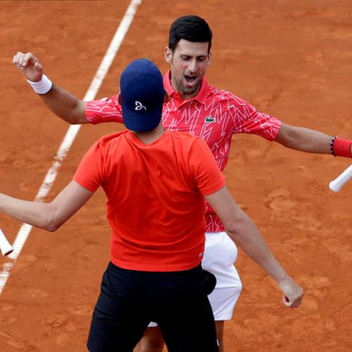 Novak Djokovic beaten at charity tournament organised by World Number 1 Tennis player