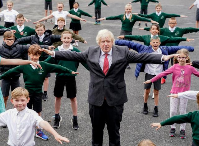 """Bounce back better together"" – PM Johnson urges Britons to lose weight"