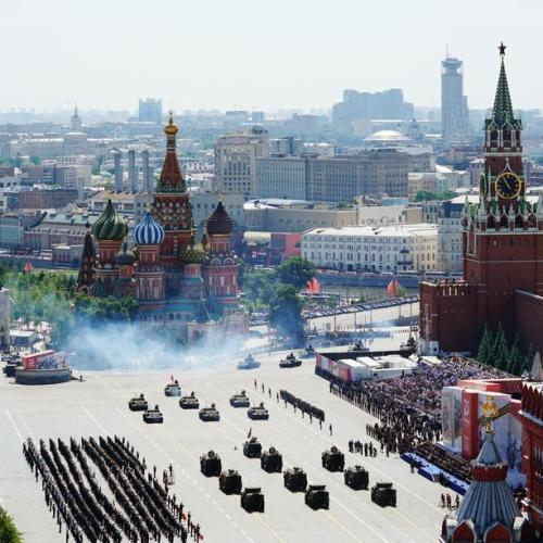 Russia holds World War Two victory parade
