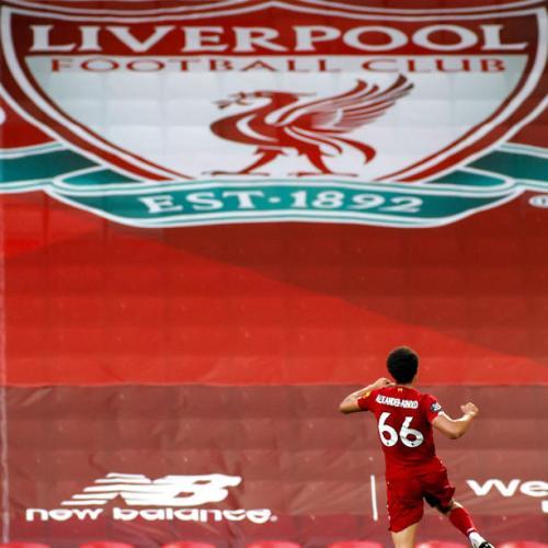 Tribute to Liverpool – Premier League Champions