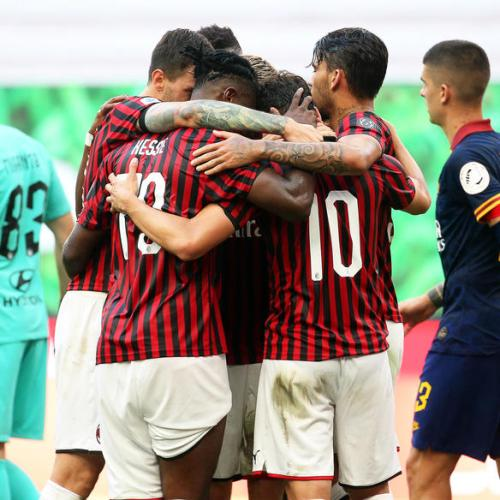 AC Milan beat the heat and Roma at San Siro
