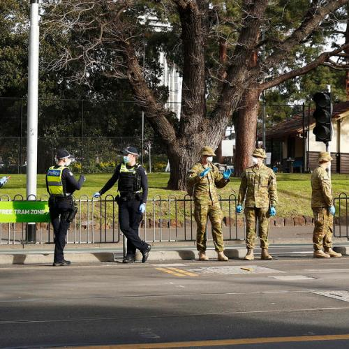 Australian state to send in the army to check on COVID-19 cases