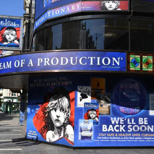 London is alive again, 'Les Mis' producer says as he opens concert show