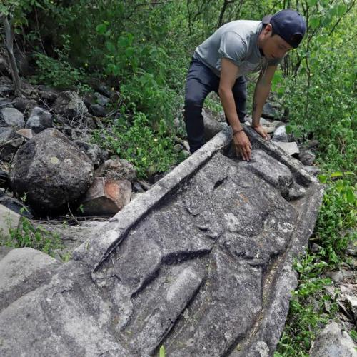 Pre-Hispanic ruins discovered in a remote Mexican hill