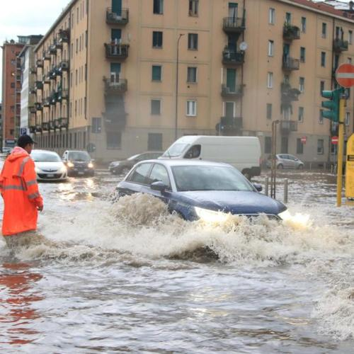Photo Story: Floods on Friday in Milan