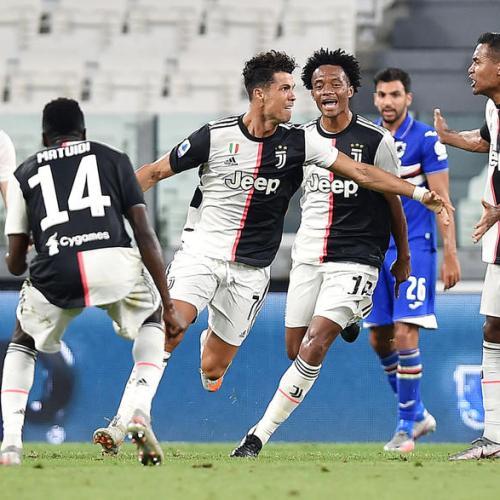 Juventus make it nine consecutive Serie A league titles