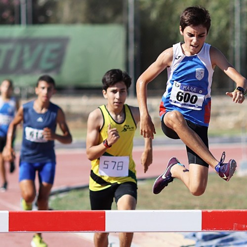 Two best overall performances for young starlets Julian Zarb and Mireya Bugeja in the 1500m steeplechase and the 1200m