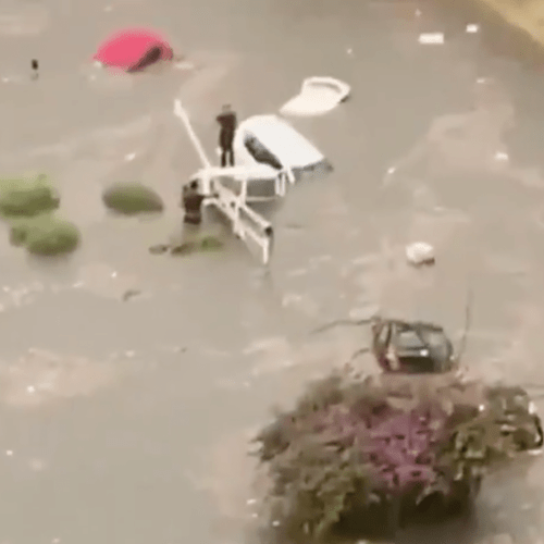Two die as heavy thunderstorms hit Palermo, Sicily