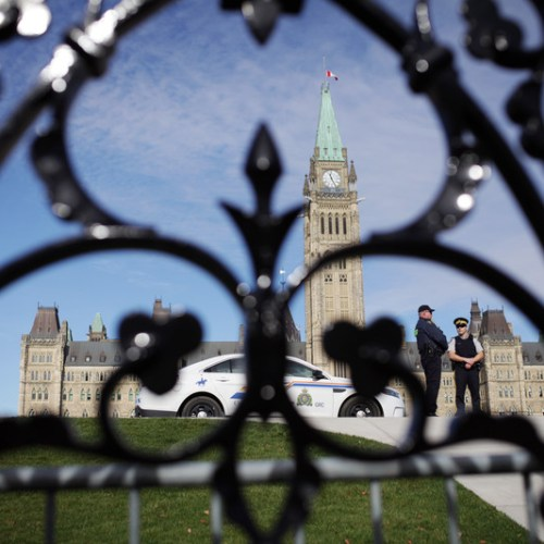 Armed man arrested after driving truck through gates near PM Trudeau's Ottawa residence