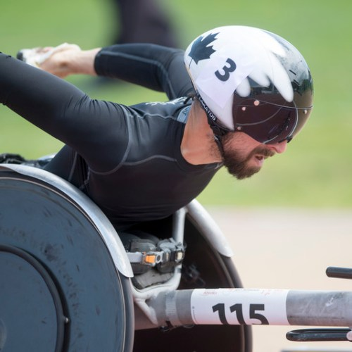 Paralympic gold medallist Lakatos designs new racing wheelchair