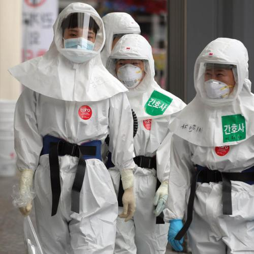 Undiagnosed virus infections could be 27 times higher in South Korea's Daegu city