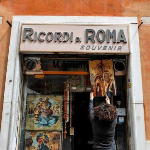 Italy's GDP slumps to unprecedented 12.4%