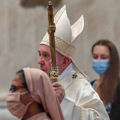 Don't leave elderly alone – Pope Francis