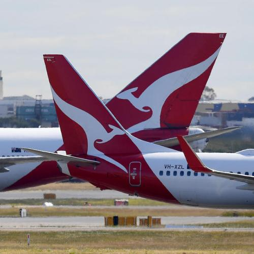 No international flights for another year, says Qantas